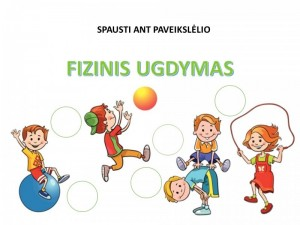 fIZINIS UGDYMAS