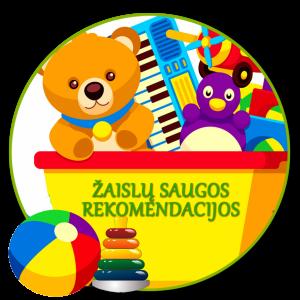 Žaislų saugos rekomendacijos